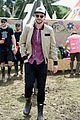 nicholas hoult douglas booth check out glastonbury festival 23