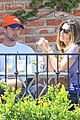 patrick schwarzenegger walks dog maria 27