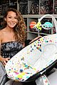 alexa penavega carlos baby items showroom visit 08