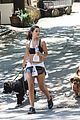 danielle campbell hike with her dogs 44