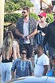 miley cyrus liam hemsworth leave nobu sunday 35