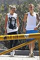 justin bieber sofia richie step out after romatic beach date 14