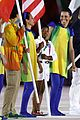 simone biles carries flag at olympics closing ceremony 2016 03