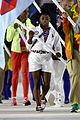 simone biles carries flag at olympics closing ceremony 2016 06