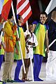 simone biles carries flag at olympics closing ceremony 2016 07