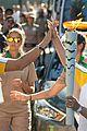 cody simpson alli simpson torch relay rio olympics 03