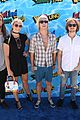 courtney eaton goes swimming with r5 at just jared summer bash 03