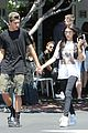 madison beer jack gilinsky fred segal lunch family 11