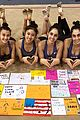 rhythmic gym team meets artistic gym team rio 09
