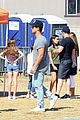 taylor lautner mystery brunette hang out malibu 07