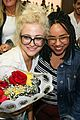 pixie lott almost cries with happiness at brazil airport 47