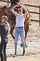 kendall caitlyn jenner go horseback riding 43