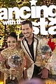 laurie hernandez val chmerkovskiy dwts win final five react 42