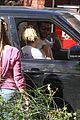 miley cyrus liam hemsworth vote from their car 10