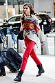 taylor hill heads to a victorias secret fashion show fitting 14