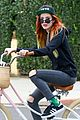 bella thorne bike ride sunday 01
