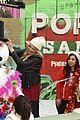 shay mitchell tahj mowry freeform stars pop up santa 02