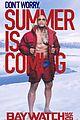 baywatch unveils new posters zac efron dwayne johnson 03