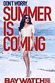 baywatch unveils new posters zac efron dwayne johnson 07