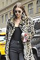 gigi hadid leopard coat new tommy collection 03