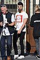 joe jonas wears tight fitting shirt shows off muscles 02