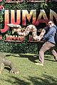 jack black nick jonas face off during jumanji promo 13