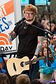 ed sheeran today show performances watch 07