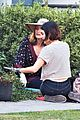 lucy hale rides a vespa and does some gardening on life sentence set 04
