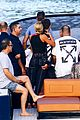 scott disick and sofia richie flaunt pda on a boat with friends2 20