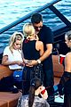 scott disick and sofia richie flaunt pda on a boat with friends2 22
