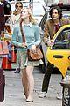elle fanning timothee chalamet film woody allens upcoming film around nyc 07
