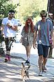 bella thorne goes for sunday hike with sister dani and friends 05