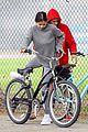 justin bieber selena gomez bike ride together 55