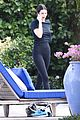 kendall jenner keeps it casual on photo shoot set 03
