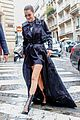 bella hadid channels the matrix while stepping out in paris 04