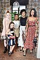 camila mendes and katherine langford are black and white beauties at w mags it girls luncheon 29