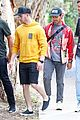 nick jonas meets up with brother joe in australia 37