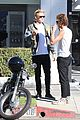 cody simpson takes his motorcycle for a spin around la 07