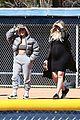 kim kardashian khloe kardashian kendall jenner baseball 01