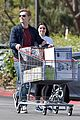 ariel winter and levi meaden rock matching shoes while shopping at costco 04