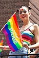victoria justice shows her colors at nyc pride parade 2018 11