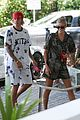 justin bieber shows off tattooed torso on vacation with hailey baldwin 01
