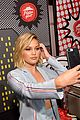olivia holt and aubrey joseph strike a pose during comic con day 2 05