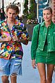 justin bieber hailey baldwin make one colorful couple in beverly hills 11