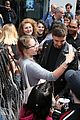 liam payne rocks leather jacket during day of interviews in london 23