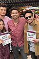 maddie ziegler nia sioux more jonathan bennett cookbook launch 15