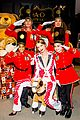 gigi hadid unveils new fao schwarz toy soldier uniforms 03