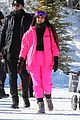kim kardashian kendall jenner hit the slopes aspen 01