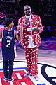 lonnie chavis shows off his dancing skills at la clippers game 05