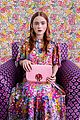julia garner kiki layne and sadie sink get colorful for kate spades spring 2019 campaign 07